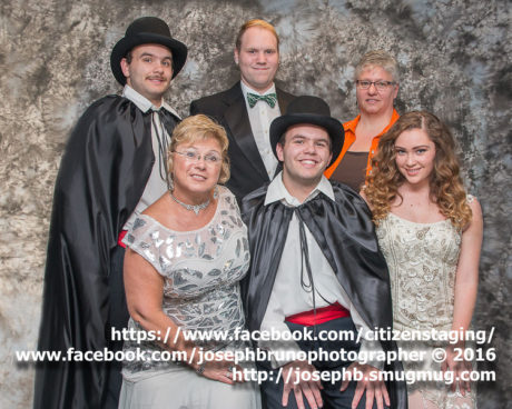 The cast. Photo by Joseph Bruno Photography.