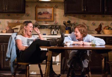 Beth Hylton (Robyn) and Deb Haslett (Sharon). Photo by Stan Barouh.