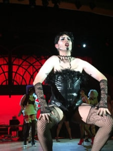 Eric Jones as Dr. Frank N. Furter. Photo by Jane Dallimore.