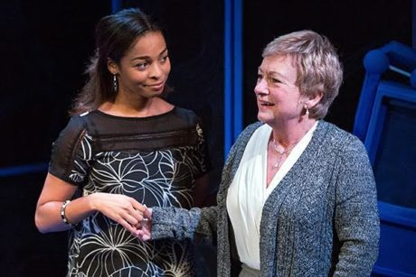 Adrienne S. Wells and Jane Ridle in 'The Other Place.' Photo by Mark Garvin.