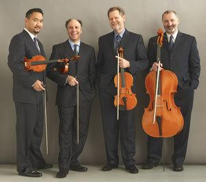 The Alexander Quartet. Photo courtesy of the Tuesday Evening Concert Series' website.