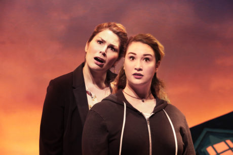 Heidi Blickenstaff (Katherine Blake) and Emma Hunton (Ellie Blake). Photo by Jim Saah.