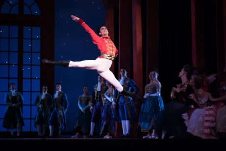 Joseph-Walsh-in-Christopher Wheeldon's 'Cinderella.' Photo by Erik Tomasson.