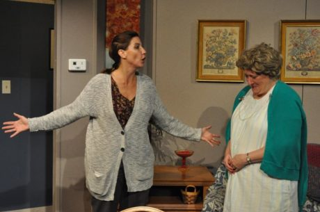 Connie Shabshab (Jessie) and Gayle Nichols-Grimes as Thelma. Photo courtesy of Dominion Stage.