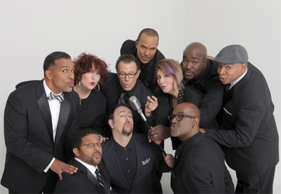 The performers of 'The Summit: The Manhattan Tranfer Meets Take 6.' Photo courtesy of The Music Center at Strathmore.