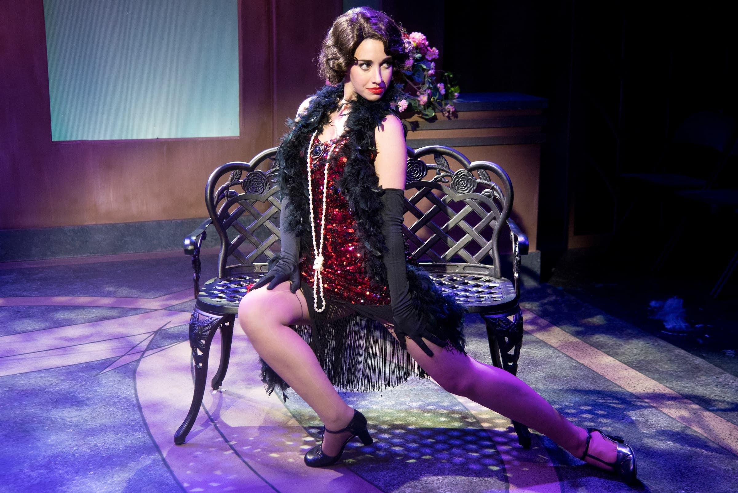 Olivia Ercolano as Olivia. Photo by Joshua McKerrow.