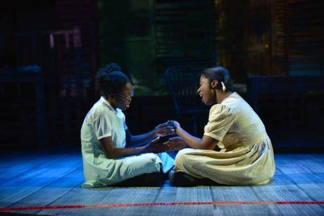 Lashea Johnson and Catherine Ejiogu. Photo by Jay Herzog.