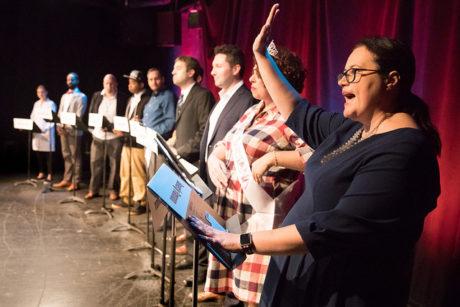 The cast og 'Potus Among Us.' Photo by DJ Corey Photography.