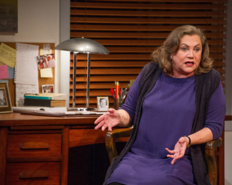Kathleen Turner (Joan Didion). Photo by C. Stanley Photography.