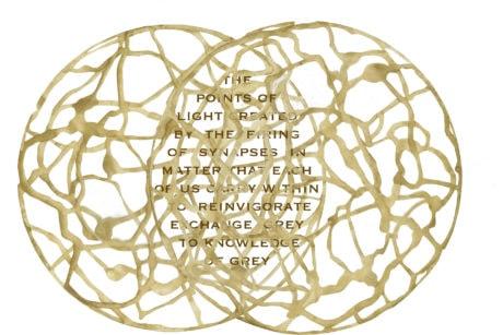 2016 Arts Award designed by Rebecca Kamen.