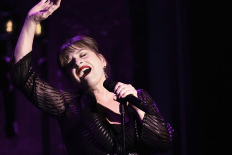 Patti Lupone performing 'Woulda , Coulda, Shoulda' at 54 Below on July 22, 2013. Photo by Rahav iggy Segev / Photopass.com