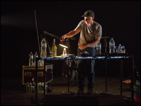 Simon McBurney in 'The Encounter.' Photo by Joan Marcus.