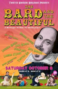 'Bard and Beautiful' Poster by Dave Marcoot.