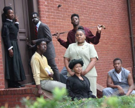 The cast of 'Radio Golf' at Howard University. Photo courtesy of BlackStage DC.