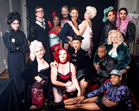 the cast of Iron Crow Theatre's 'The Wild Party.' Photo by Rob Clatterbuck.