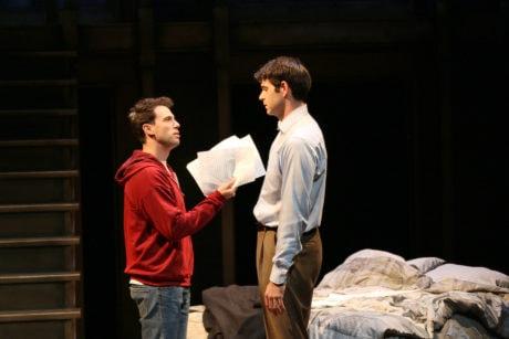 Jonathan Bock (Louis Ironson) and Thomas Keegan (Joe Pitt). Phot by Danisha Crosby.