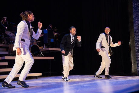 Leo Manzari, Maurice Hines, and John Manzari. Photo by Matt Urban, Mobius New Media.