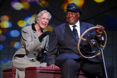Karen Grassle (Daisy Werthan) and Bill Grimmette (Hoke Colburn). Photo by Suzanne Carr Rossi.