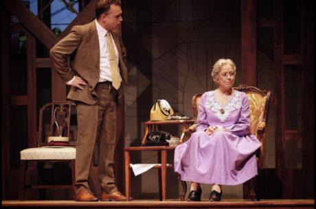 Alan Hoffman (Boolie Werthan) and Karen Grassle (Daisy Werthan). Photo by Suzanne Carr Rossi.