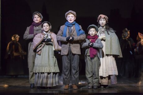 The young members of the cast. Photo by Scott Suchman.
