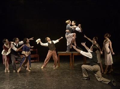 Estampas Porteñas Tango Company. Photo courtesy of The Music Center at Strathmore.
