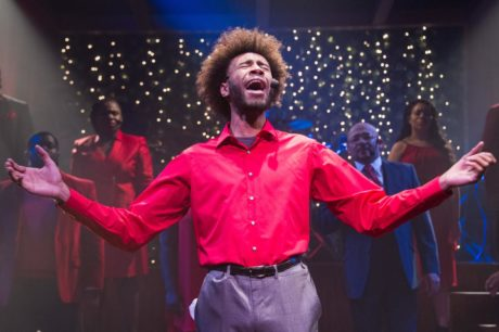 Derrionne Key and the Ensemble of 'Black Nativity.' Photo by C. Stanley Photography.