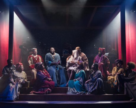 The Ensemble of 'Black Nativity.' Photo by C. Stanley Photography.