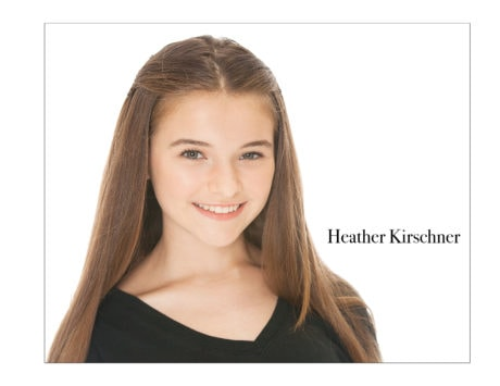 Heather Kirschner. Photo courtesy of Ovations Theatre.