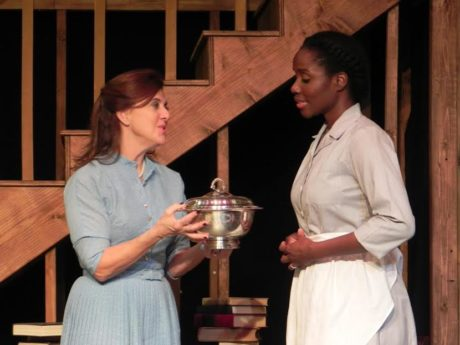 Mare Mikalic and Sara Osi Scott. Photo courtesy of he Stagecrafters Theater.