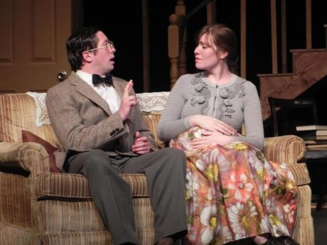 Patrick Cathcart and Neena Boyle. Photo courtesy of The Stagecrafters Theater.