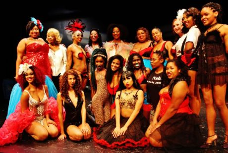 Tony Elling (back row-2nd from the left) and te cast of 'Black Friday.' Photo by Malcolm Barnes.