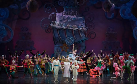 'The Nutcracker' with the Cincinnati Ballet at the Kennedy Center. Photo by Peter Mueller.