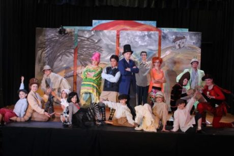 The cast of 'James and the Giant Peach, JR.'