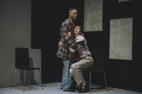 Ryan Swain and Patrick Joy in 'Six Degrees of Separation.'. Photo by Cameron Whitman.