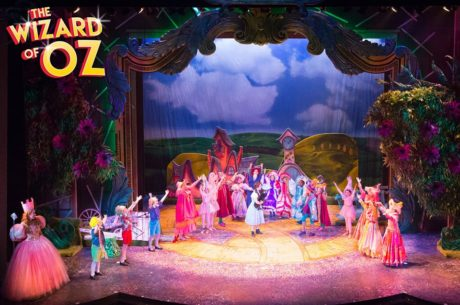 """Company of """"The Wizard of Oz"""" by Mark Garvin."""