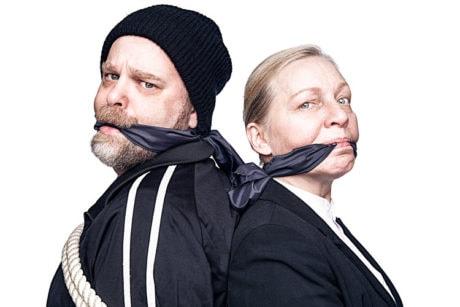 Sasha Olinick and Nanna Ingvarsson. Photo courtesy of Solas Nua.