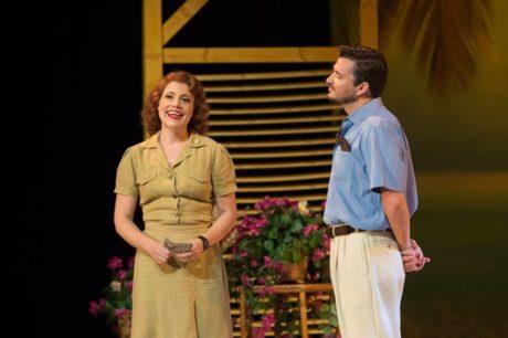Nora Graham-Smith and Christian Bowers. Photo courtesy of Annapolis Opera.