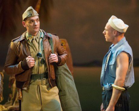 Glenn Seven Allen and James Ludlum. Photo courtesy of Annapolis Opera.