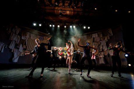 The dancers of 'Salvador.' Photo courtesy of GALA Hispanic Theatre.