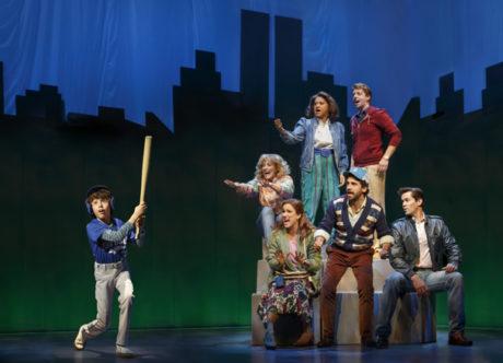 The cast of 'Falsettos.' Photo by Joan Marcus.