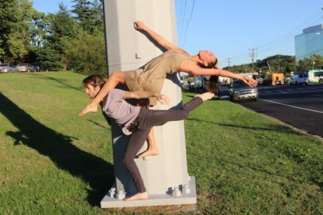 Matthew Rock and Amy Scaringe at Theatre on the Run. Photo courtesy of Jane Franklin Dance Company.