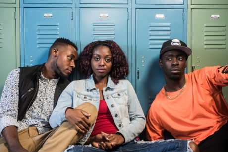 (L to R) Vaughn Ryan Midder, Kashayna Johnson, and Jeremy Keith Hunter. Photo by Teddy Wolff.