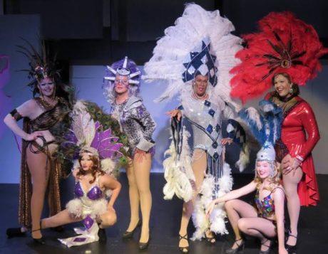 Les Cagelles Ensemble. Photo courtesy of Other Voices Theatre.