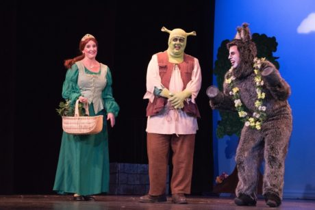 in Shrek. Photo courtesy of Rockville Musical Theatre.