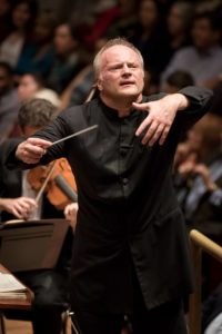 Gianandrea Noseda conducting 'Romeo and Juliet' with the NSO last night at The Kennedy Center. Photo by Scott Suchman.