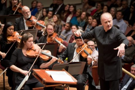Noseda conducting Romeo and Juliet' with the NSO last night at The Kennedy Center. Photo by Scott Suchman.