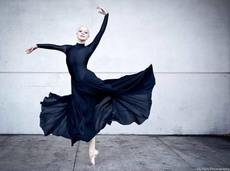 The Bald Ballerina. Photo By Luis Pons.