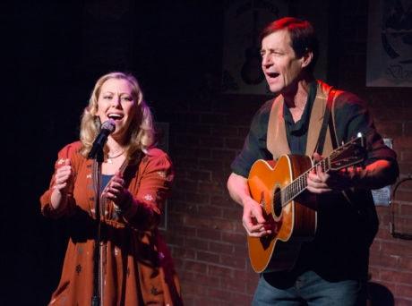 Katie Deal and David M. Lutken. Photo by Mark Garvin.