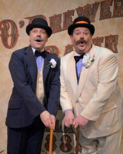 Kilty Reidy (Bill Brewer) and Jayson Elliott (Buddy Baker). Photo by John Vecchiolla.