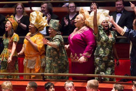 The Gospel Choir. Photo courtesy of The Kimmel Center.